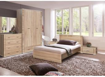 Спальня «Гресс» #1 (дуб сонома светлый)