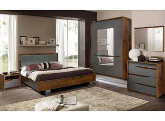 Спальня «Монако» #2 (дуб саттер/серый мокко)