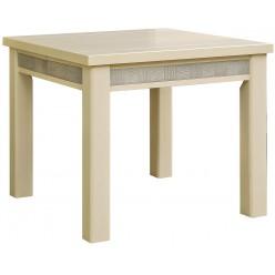 Обеденный стол «Тунис 14» П352.03 (слоновая кость с золотом)