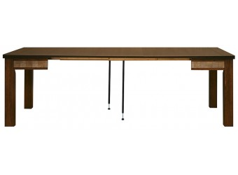 Обеденный стол «Тунис 14» П352.03 (венге с серебром)