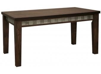 Обеденный стол «Тунис 1РД» П352.04 (венге с серебром)