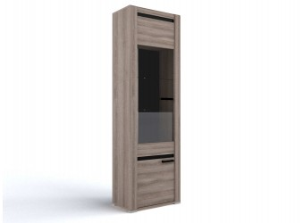 Шкаф-витрина для посуды Б-2 (ЯТ) Бруна