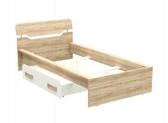 Односпальная кровать Ч-8 Чемпион с выдвижным ящиком