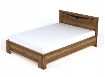 Двуспальная кровать Г-6 NEW (ДГТ) Гарда