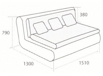Модуль дивана Kormak (Кормак) 150Н левый