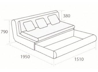 Модуль дивана Kormak (Кормак) 150Я левый
