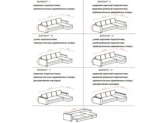 Угловой диван Мадрид от Сола-М