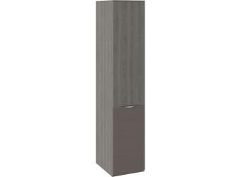 Шкаф для белья с 1 дверью ЛКП «Либерти» (Хадсон/Фон Серый) СМ-297.07.013