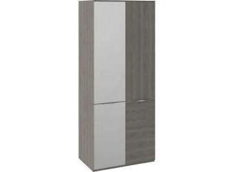 Шкаф для одежды с 1 дверью и 1 зеркальной дверью «Либерти» (Хадсон) СМ-297.07.024