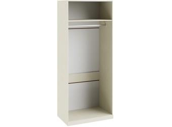 Шкаф для одежды с 1-ой глухой и 1-ой зеркальной дверями «Лючия» (Штрихлак) СМ-235.07.05