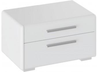 Спальный гарнитур «Наоми» №4 (Белый глянец) ГН-208.004