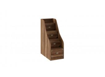 Кровать двухъярусная с приставной лестницей «Навигатор» (Дуб Каньон) СМ-250.11.12