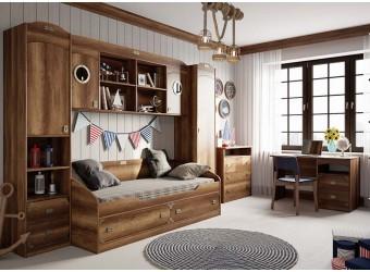 Набор детской мебели «Навигатор» 3 (Дуб Каньон) ГН-250.003