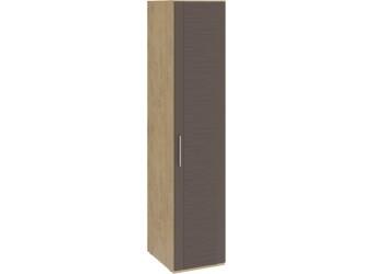 Шкаф для белья с 1 дверью «Николь» (Бунратти/Фон Коричневый) СМ-295.07.001