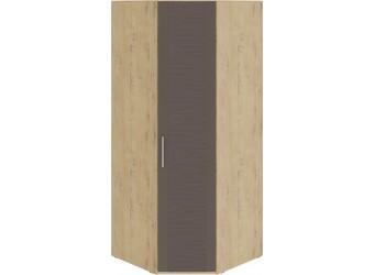 Шкаф угловой с 1 дверью «Николь» (Бунратти/Фон Коричневый) СМ-295.07.006