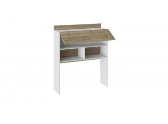 Набор детской мебели «Оксфорд» 3 (Ривьера/Белый с рисунком) ГН-139.003