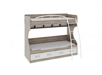 Двухъярусная кровать «Прованс» СМ-223.11.002
