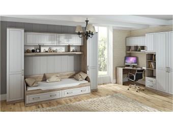 Набор мебели для детской комнаты «Прованс» №4 ГН-223.104