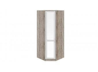 Шкаф угловой с 1-ой зеркальной дверью левый «Прованс» СМ-223.07.007L
