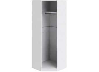 Шкаф угловой с 1-ой дверью левый «Ривьера» (Белый) СМ 241.23.003 L