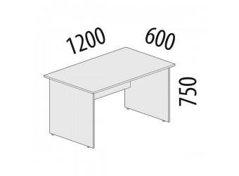 Рабочий стол Альфа 63.19 для офиса