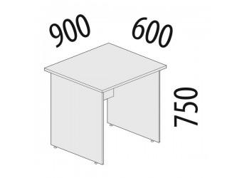 Рабочий стол Альфа 63.20 для офиса