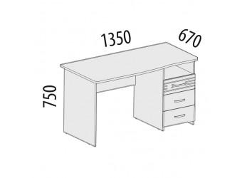 Компьютерный стол Британия 52.13
