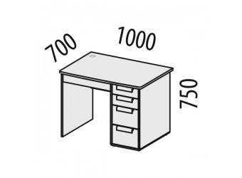 Компьютерный стол Фристайл 56.14
