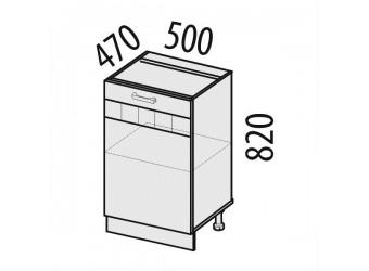 Шкаф кухонный Аврора 10.61 (под мойку)
