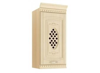 Навесной кухонный шкаф Глория 03.05 с решеткой