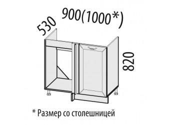 Шкаф под мойку угловой Оливия 71.52
