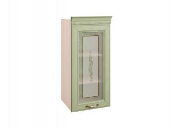 Шкаф-витрина кухонный навесной Оливия 72.04