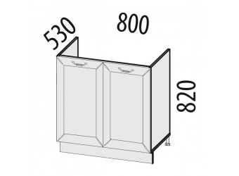 Шкаф под мойку Оливия 72.51