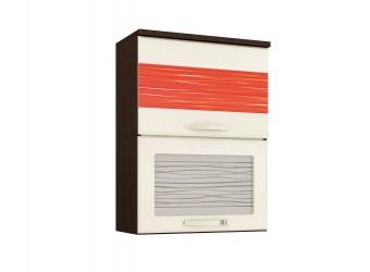 Шкаф-витрина кухонный навесной Оранж 09.08