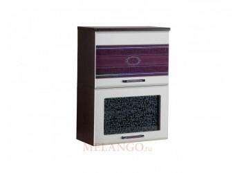 Шкаф-витрина Палермо 08.80 (с системой плавного закрывания)