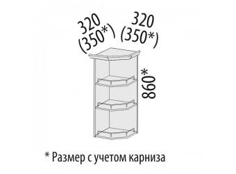 Шкаф кухонный угловой Софи 22.18 (торцевой)