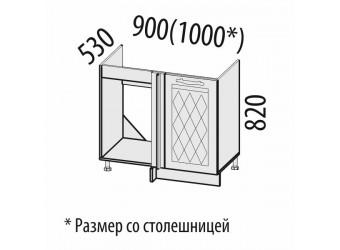 Шкаф под мойку угловой Тиффани 19.52