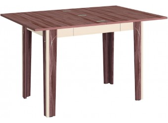 Раздвижной обеденный стол Орфей 23.10 ясень шимо темный, дуб кобург