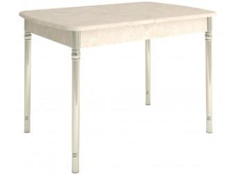 Раздвижной обеденный стол Орфей 28 стоун крем
