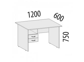 Компьютерный стол Рубин 41.42 правый