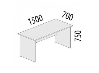 Рабочий стол Рубин 42.40 для офиса