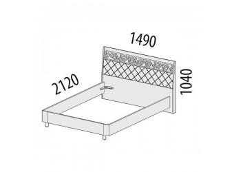 Двуспальная кровать Тиффани 93.02