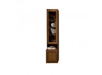 Шкаф-витрина для посуды Амели АМП-2C (ноче)