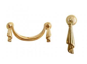 Туалетный столик Тиффани ТФСТ-1 (золото)