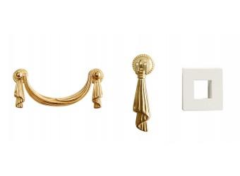 Гостиная Тиффани Премиум (слоновая кость, золото)