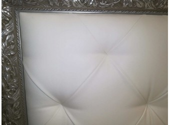 Двуспальная кровать с подъемным механизмом Тиффани ТФКР140-2 с мягкой спинкой (золото)