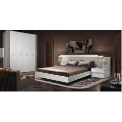 Спальня Челси Элеганс 2 (выбеленный дуб, серый)